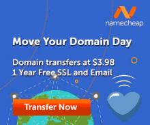 Namecheap Domain Transfer Day